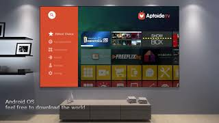 JMGO J6S Full HD DLP Projector Android TV Box 4K 1080P