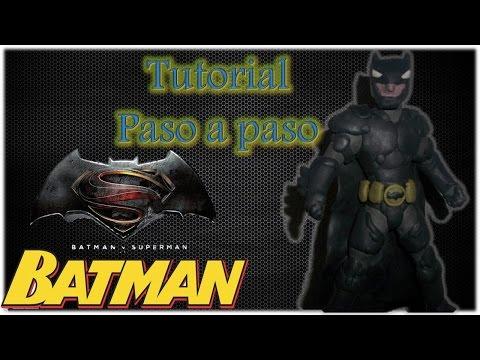 Batman v Superman Especial - Como Hacer a Batman de plastilina Tutorial