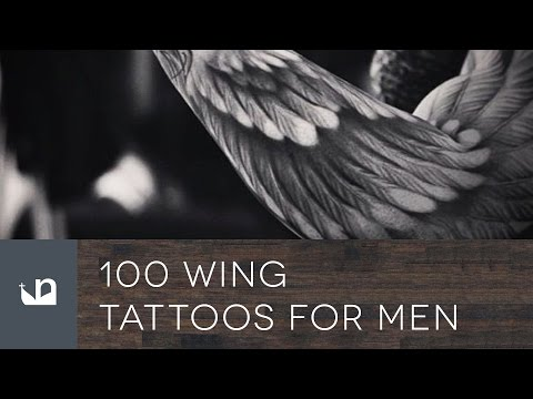 100 Wing Tattoos For Men