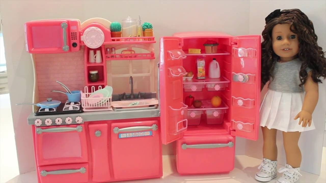 Our Generation New Gourmet Kitchen Set Review!  Youtube