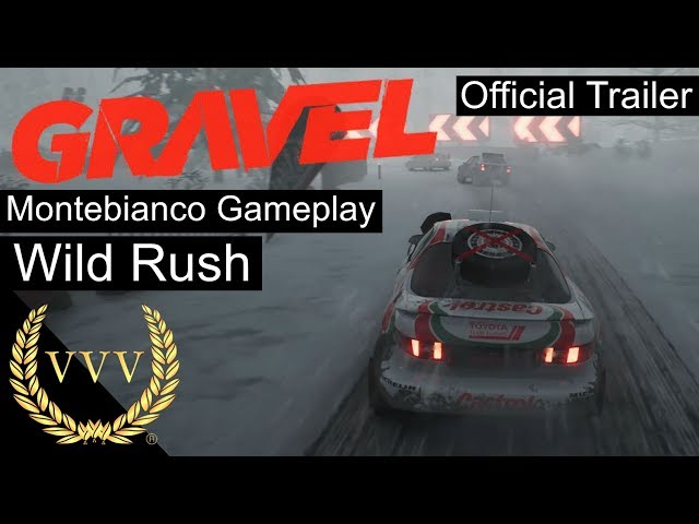 Gravel - Montebianco Official Gameplay Trailer