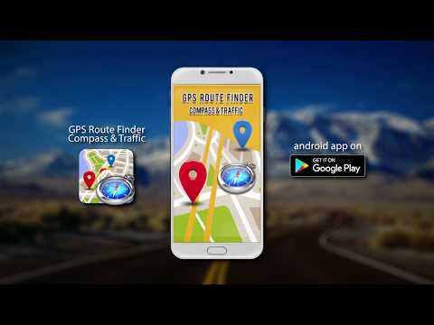 GPS Route Guide, Maps, Directions Route Finder, Traffic & Compass