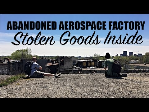 Urban Exploring a Creepy Abandoned Aerospace Factory | Urbex Dayton, Ohio