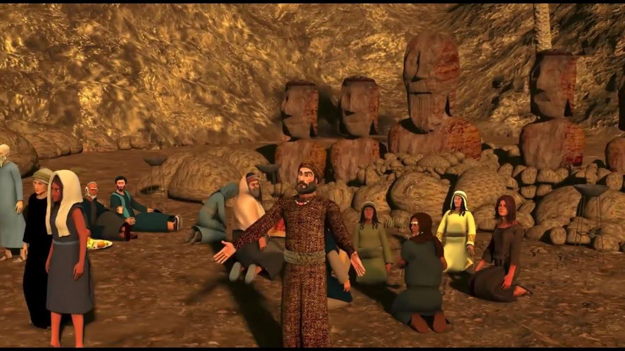 ماذا فعل سيدنا نوح عليه السلام مع قومه عندما كانوا يعبدون الاصنام
