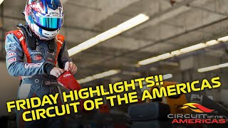 Velocity Racing Development | F4/FR Friday Highlights | Circuit of the Americas
