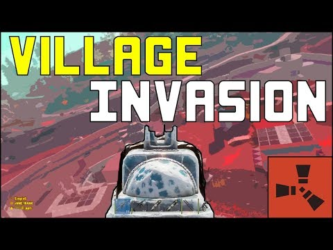 Rust | Invading a Roleplayer Village With a Heli thumbnail