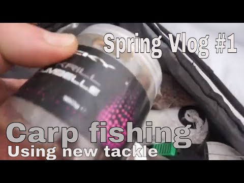 ** Carp Fishing In Spring 2019 ***New Tackle
