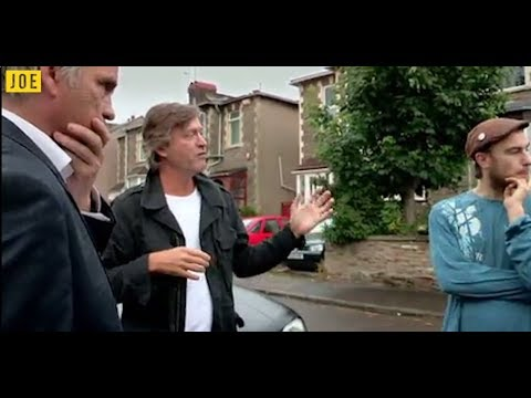 Richard Madeley Meets The Squatters. The most real-life Partridge show ever broadcast