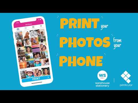 Warehouse Stationery Photo Printing With Printicular: Order Online, IPhone App, Android App