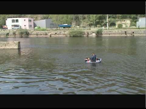 04e54759572bce test belly boat ron thompson.avi - YouTube