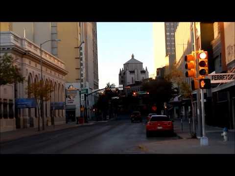 Esta Es EL PASO TEXAS El Centro y Central De Autobuses