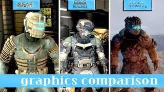 Dead Space 1 vs dead space 2 vs dead space 3 comparison [ HD]