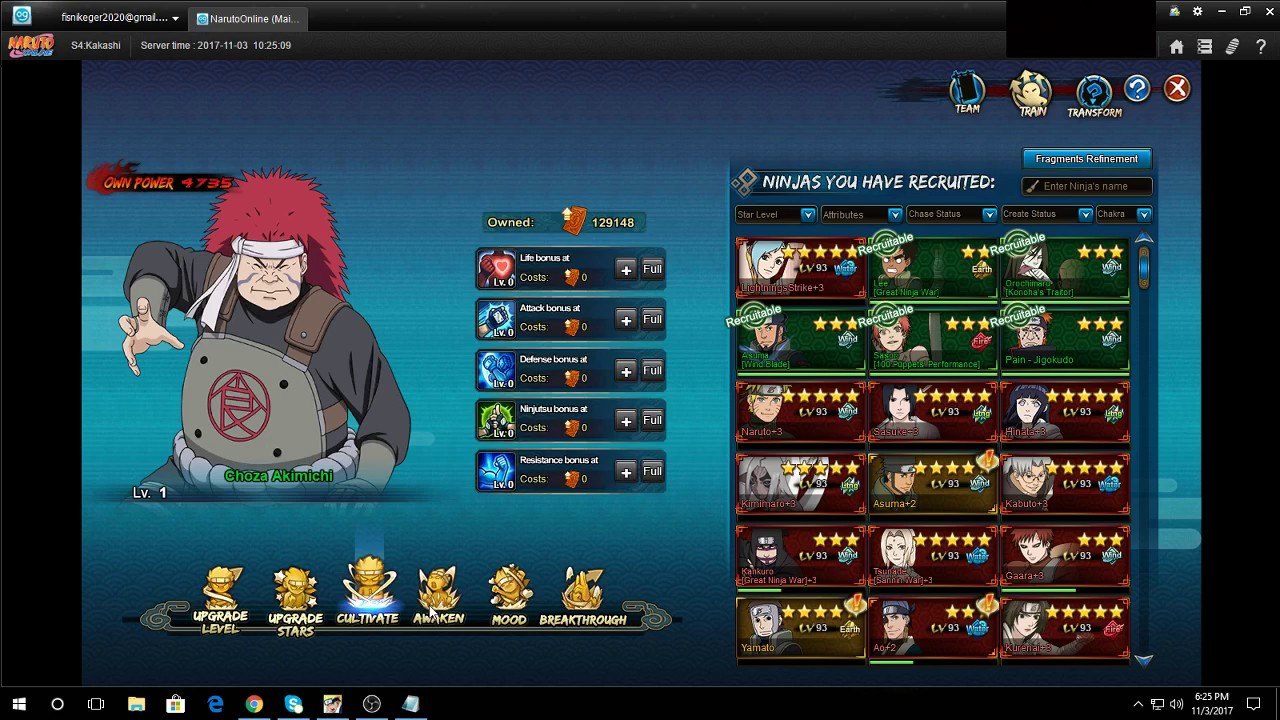 d0373a460 Naruto Online:Choza F2P teams(For EACH MAIN) - YouTube