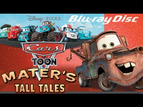 Mater S Tall Tales Dvd Opening To Cars Toon