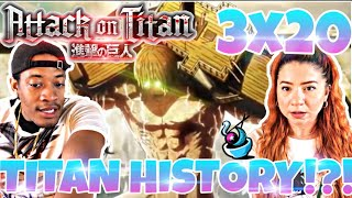 """Attack on Titan 3x20 """"THAT DAY"""" THE OWL!!! REACTION/REVIEW 