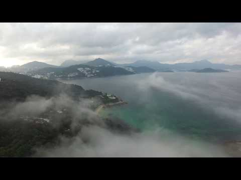 foggy-ocean,-sea-video-recorded-by-best-budget-drones-with-hd-camera-|-spinner-gadget