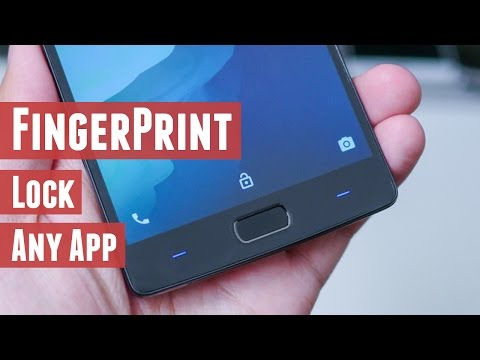 How To FingerPrint Lock Any Apps On Any Android Phone