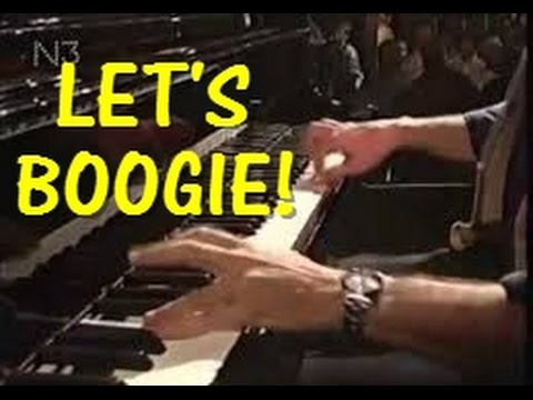 """Pinetop's Blues"" Boogie Woogie Piano with Sheet Music"