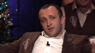 Ondrej Kandráč- Ako rozprávajú Rusnaci v Čechách (Neskoro večer - Talkshow Petra Marcina)