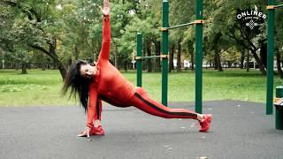 Эффективная уличная тренировка на все тело с петлями