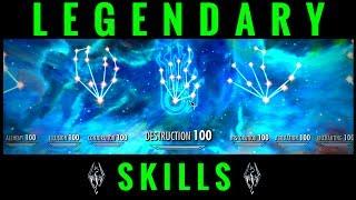 Skyrim   Legendary Skills