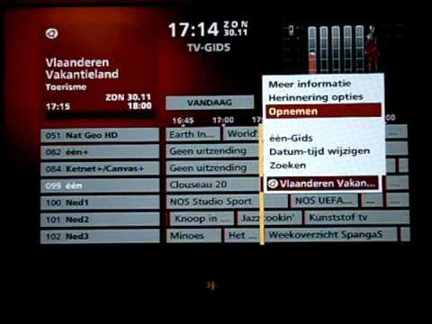 telenet tv zenderlijst