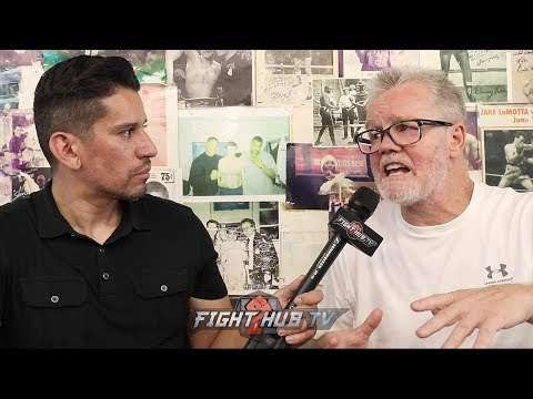"FREDDIE ROACH ""IF GOLOVKIN IS CAPABLE OF KEEPING UP W/CANELO...HE WINS"""