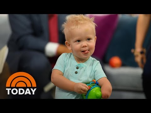 Moms Who Bonded Over Kids' Shared Limb Difference Meet For 1st Time | TODAY