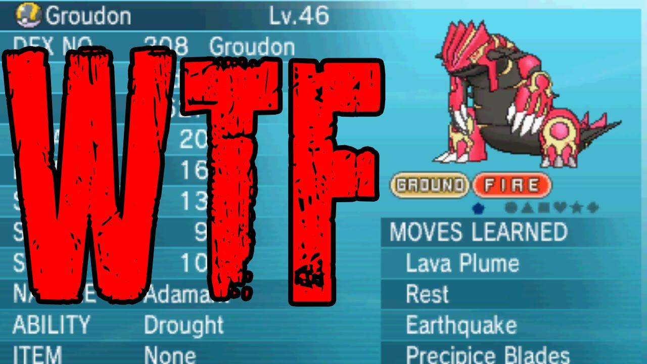 Pokémon Omega Ruby & Alpha Sapphire Permanent Mega Groudon Form ...