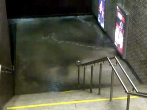 Square Victoria Metro Flooding (Montreal - May 29)