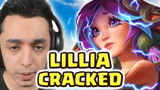 YOU'VE NEVER SEEN A LILLIA MORE CRACKED THAN THIS... NEW BEST JUNGLER? | IT'S ALWAYS A HOOF DIFF HAH