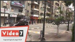 موكب خادم الحرمين الشريفين بشارع قصر العينى متجهاً إلى قصر الاتحادية