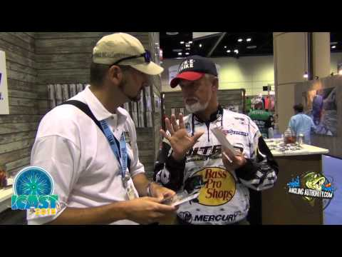 ICAST 2015 Rick Clunn and the FREAK