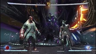 Injustice 2 HellBoy Combos Day 2 w/ Trait & Concepts