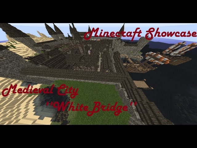 Minecraft Medieval Port City