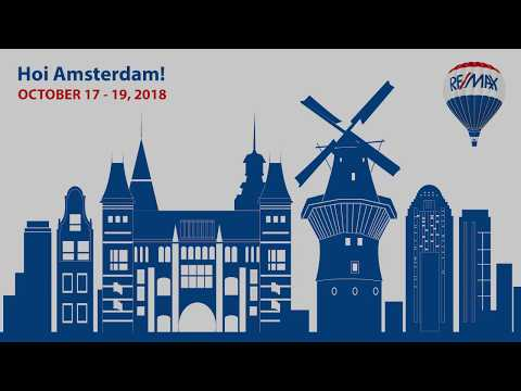 RE/MAX 10th European Convention in Amsterdam - save the date!