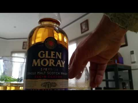 Glen Moray Port Barrel Single Malt Scotch.