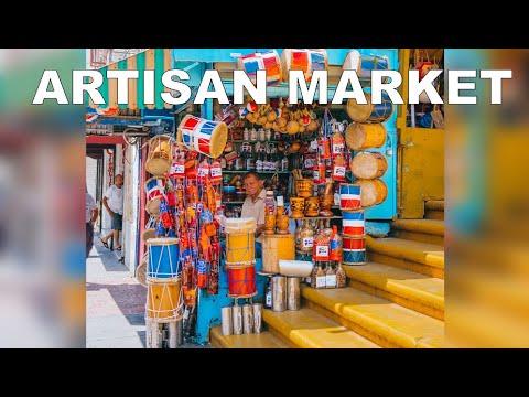 Walking Tour Artisan Market, Santo Domingo, Domninican Republic. (Mercado Modelo)