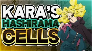 How Kara Uses Hashirama Cells To Rival Naruto And Sasuke In Boruto Naruto Next Generations!