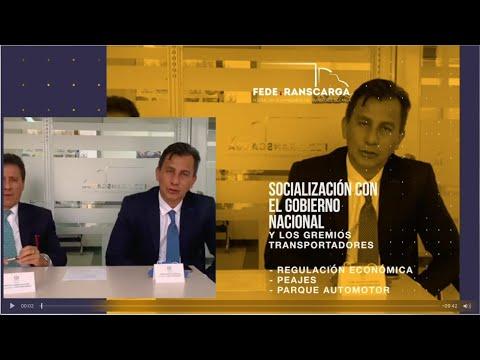 Fedetranscarga - Socialización con el Gobierno Nacional