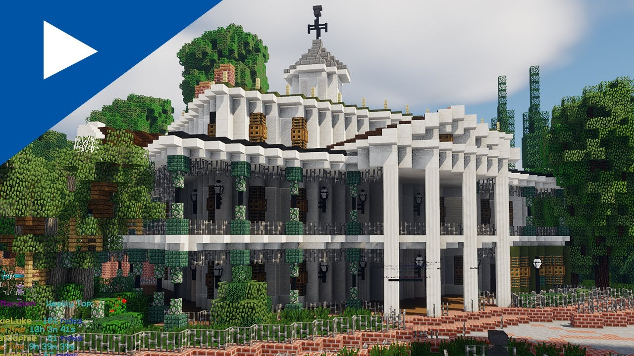 A Gamer Built A Functioning Haunted Mansion In Minecraft All Hallows Geek