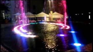 Musical fountain in Delhi - India