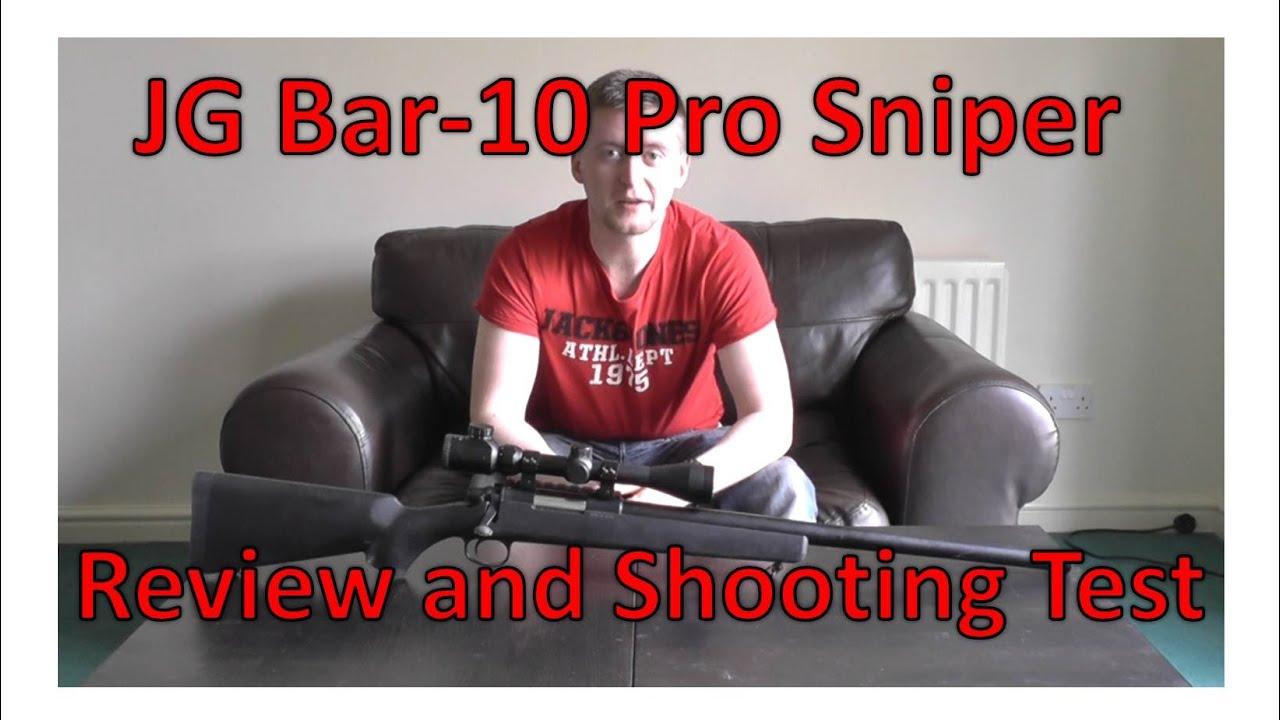 JG Bar-10 Video Review - Sniper Reviews - Airsoft Forums UK