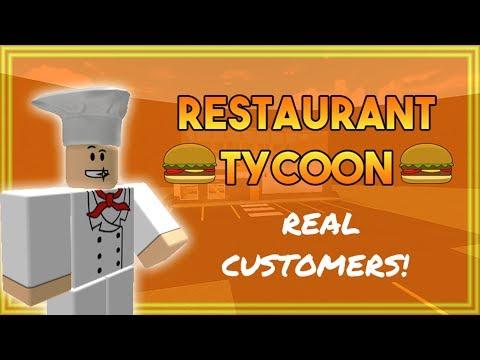 ROBLOX RESTAURANT TYCOON #1