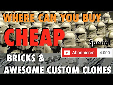 Where Can I Buy Cheap Lego Bricks And Custom Clones 4000 Subscriber Special