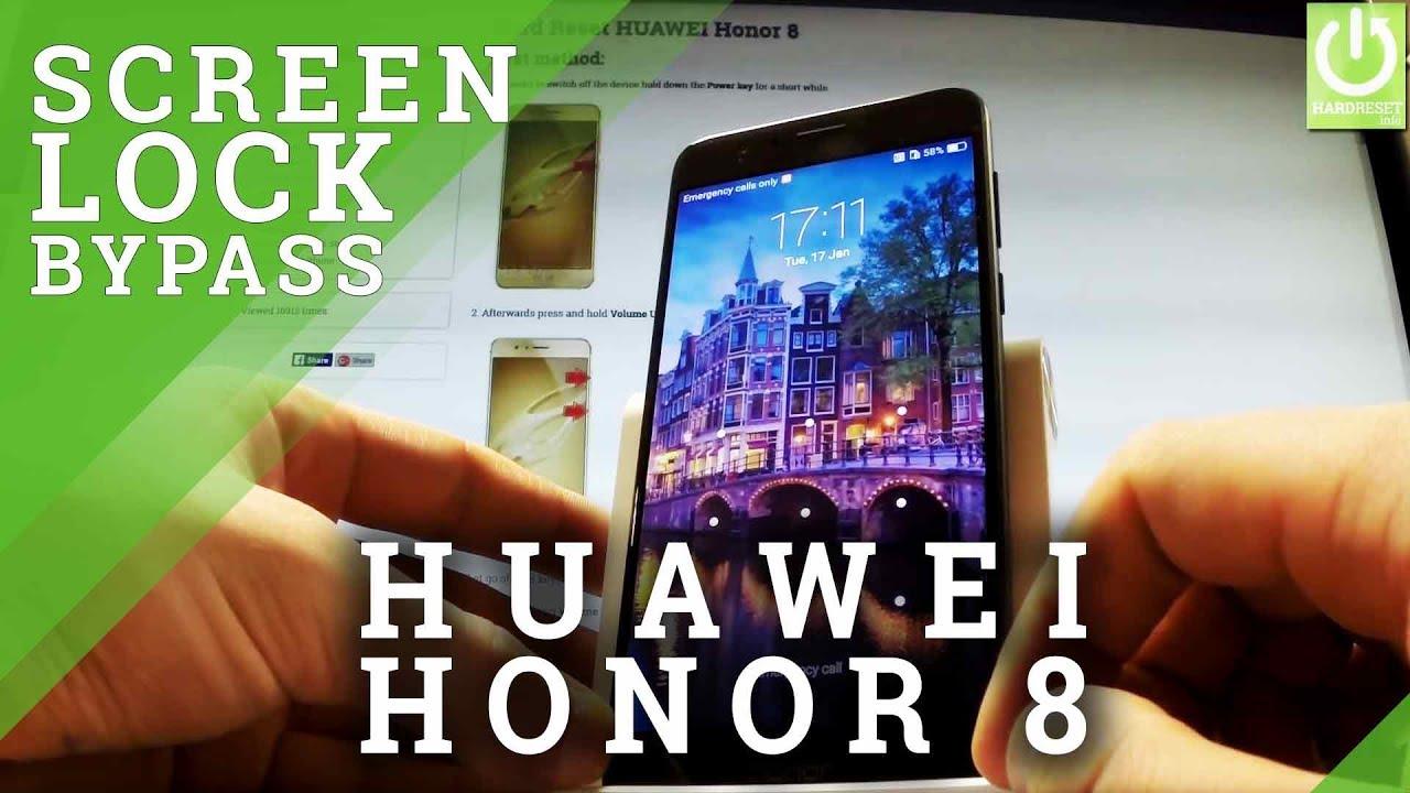 Hard Reset HUAWEI Honor 8 Lite - HardReset info