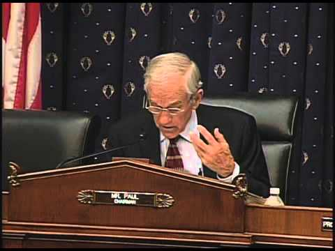 Ron Paul Hearing on Auditing Fort Knox's Gold -- 6/23/11
