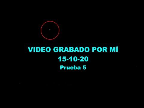OVNI grabado por mí - 15-10-20 (prueba 5)