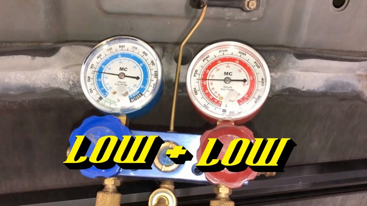 Poor Automotive A/C Cooling: Do You Have a Low Refrigerant Charge Level?
