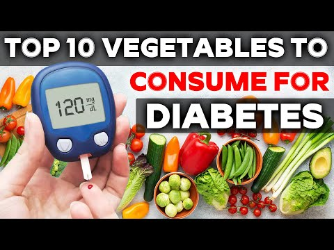 Top 10 vegetables to consume for diabetes